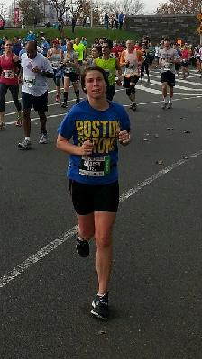 2014 Boston Marathon: Stacey Allen - Museum of Science